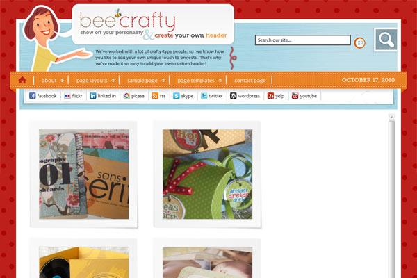 Bee Crafty - Genesis Child Theme